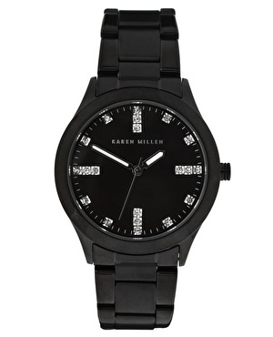 Karen Millen Steel Watch